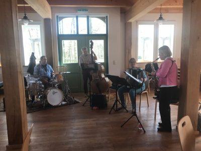 Besuch eines Jazz-Konzertes in Lünzen